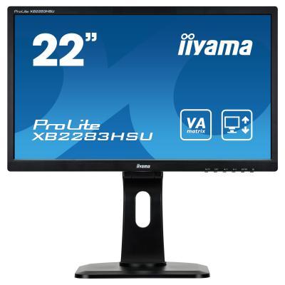 "Монитор 22"" iiYama XB2283HSU-B1DP iiyama x2283hsu b1dp black"