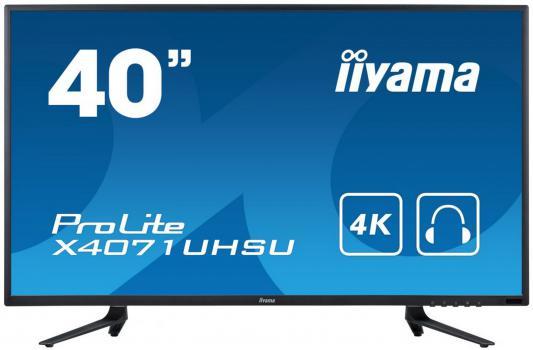 Монитор 40 iiYama X4071UHSU-B1 монитор iiyama xub3490wqsu b1 черный