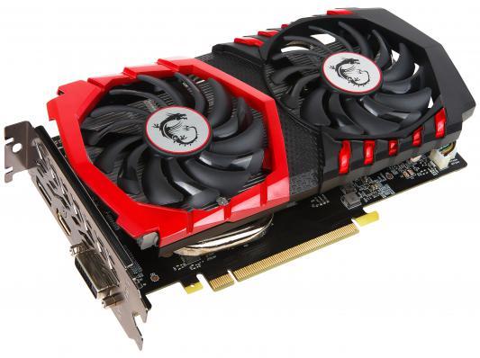 Видеокарта 4096Mb MSI GeForce GTX1050Ti GAMING X 4G PCI-E 128bit GDDR5 1341/7000 DVIx1/HDMIx1/DPx1/HDCP Retail