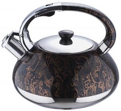 Чайник Wellberg WB-6131 рисунок 3 л нержавеющая сталь чайник wellberg wb 3413 белый рисунок 2 2 л металл