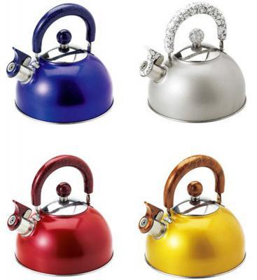 Чайник Wellberg WB-6196 цвет в ассортименте 2.5 л нержавеющая сталь