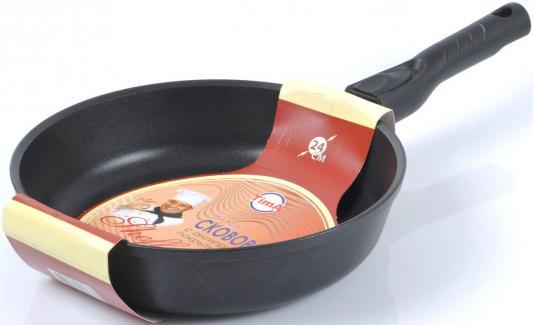 Сковорода Tima 24101 Шеф 24 см алюминий 24101 Пл+лопатка