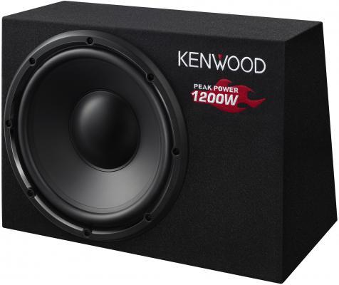 "Сабвуфер Kenwood KSC-W1200B динамик 12"" 300Вт-1200Вт 4Ом"