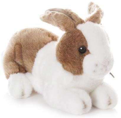 Мягкая игрушка Aurora Кролик плюш коричневый 25 см
