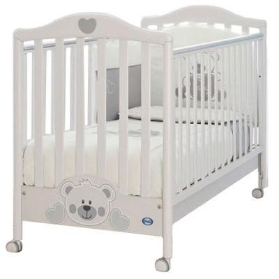Кроватка-качалка Pali Funny Bear (белый)