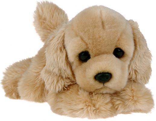 Мягкая игрушка щенок Aurora Бордер Кокер-спаниель искусственный мех бежевый 22 см
