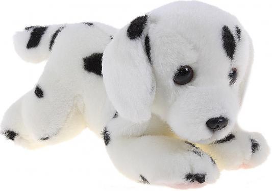 Мягкая игрушка щенок Aurora Далматин плюш синтепон белый 22 см