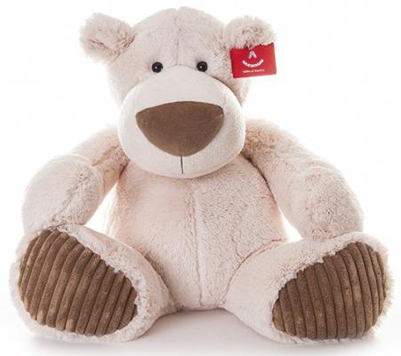 Мягкая игрушка Aurora Медведь Латте плюш синтепон бежевый 38 см
