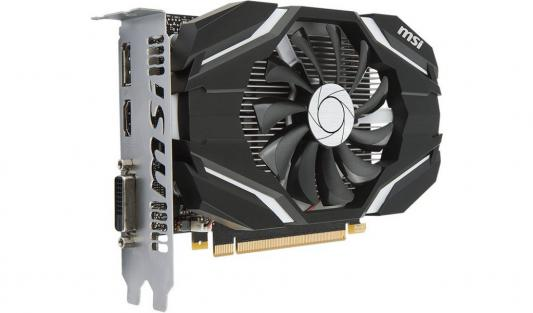 Видеокарта 2048Mb MSI GeForce GTX 1050 PCI-E 128bit GDDR5 DVI HDMI DP GTX 1050 2G OC Retail