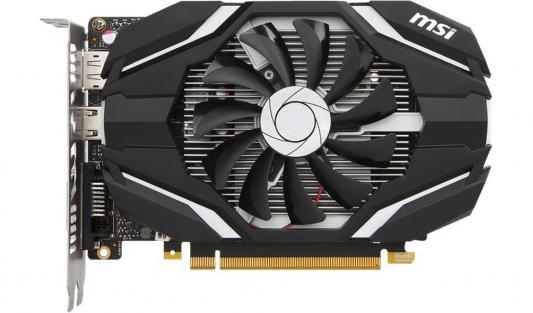 Видеокарта 2048Mb MSI GeForce GTX 1050 PCI-E 128bit GDDR5 DVI HDMI DP GTX 1050 2G OC Retail maxsun ms gtx750 geforce gtx 750 2g gddr5 graphics card with hdmi vga dvi interface