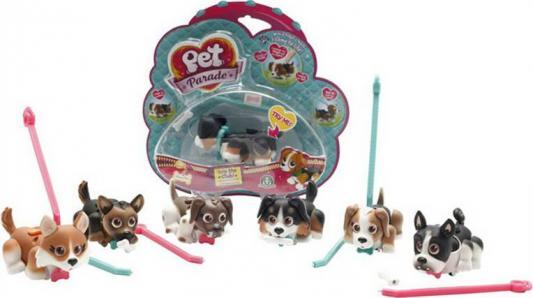 Фигурки собачек Spin Master Pet Club Parade в комплекте с косточками и поводком 9.5 см PTD00131 в ассортименте