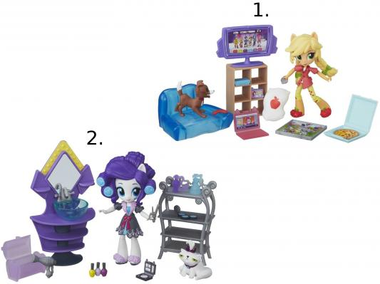 Игрушка Hasbro My Little Pony Equestria Girls мини-куклы в ассортименте B4910 hasbro my little pony b8824 equestria girls игровой набор кукол пижамная вечеринка в ассортименте