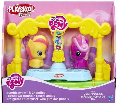 Игровой набор Hasbro My Little Pony карусель для пони-малышек 3 предмета