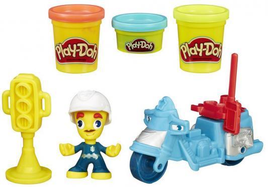 Набор для творчества Play-Doh Город транспортные средства B5959 + фигурки B5960