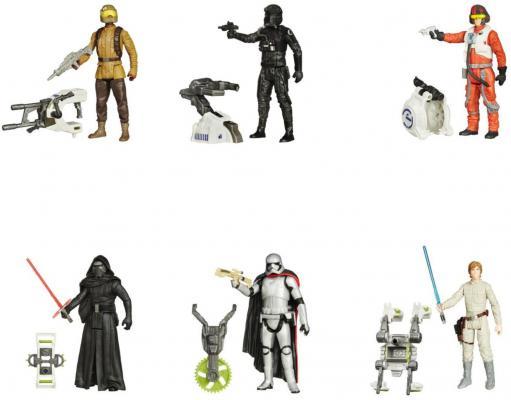 Игровой набор Hasbro Star Wars раздвижной световой меч + фигурка B2912 + B3445