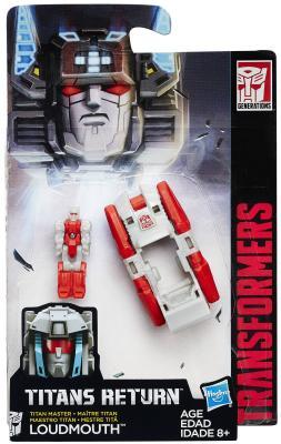 Игровой набор Hasbro TRANSFORMERS Дженерэйшнс Войны Титанов: Мастера Титанов hasbro hasbro трансформаторы voyager игрушка класс войны титанов молния c2397
