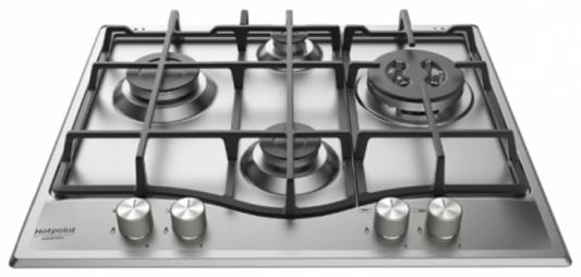 Варочная панель газовая Ariston PCN 641 T/IX/HA RU серебристый