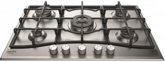 Варочная панель газовая Ariston 751 PCN T/IX/HA серебристый варочная панель газовая ariston pk 640 x серебристый