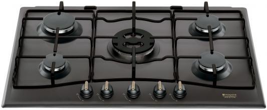 Варочная панель газовая Ariston 750 PCT R /HA(AN) черный варочная панель газовая ariston pk 640 x серебристый