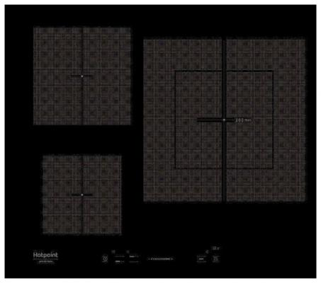 Фото - Варочная панель электрическая Ariston KIS 630 XLD B черный электрическая варочная панель teka tr 630