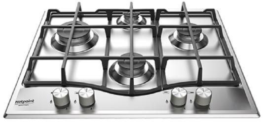 Варочная панель газовая Ariston 641 PCN IX/HA RU серебристый