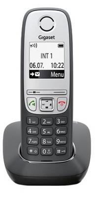 Радиотелефон DECT Gigaset А415 черный проводной и dect телефон gigaset e350 1 1 e350