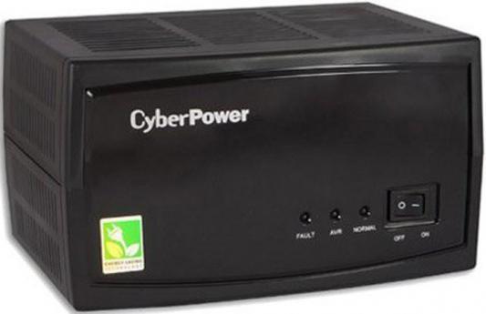 Стабилизатор напряжения CyberPower V-Armor 600E черный 3 розетки