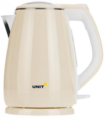 Чайник Unit UEK-268 2200 Вт бежевый 1.8 л металл/пластик
