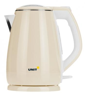 Чайник Unit UEK-269 2200 Вт бежевый 2.2 л металл/пластик