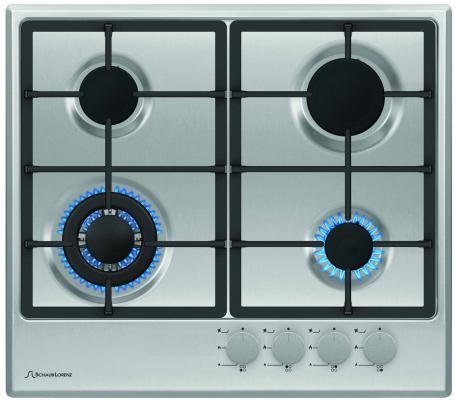 Варочная панель газовая Schaub Lorenz SLK GE6520 серебристый