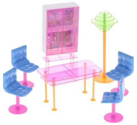 """Набор мебели 1Toy """"Красотка: Гламур"""" - Столовая Т54506"""