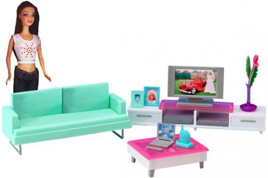 Набор мебели 1Toy гостиная с телевизором - Красотка Т54499