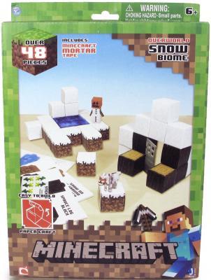 """Конструктор Minecraft """"Снежный биом"""" 48 элементов"""
