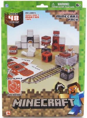 """Конструктор Minecraft """"Вагонетка и взрывчатка ТНТ"""" 48 элементов"""