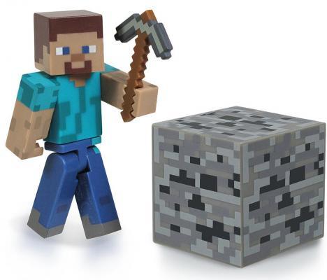 Конструктор из бумаги Minecraft Стив 3 элемента jazwares фигурка стив 8см minecraft