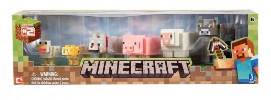 Конструктор Minecraft Животные 6 элементов