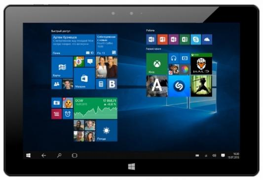 Планшет Irbis TW78 10.1 32Gb черный Wi-Fi Bluetooth Windows TW78 планшет hp x2 210 10 1 32gb серебристый wi fi bluetooth l5g89ea