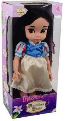 Кукла 1toy Красотка - Маленькая Белоснежка (звук) 40 см со звуком кукла маленькая леди даша в платье 1979746