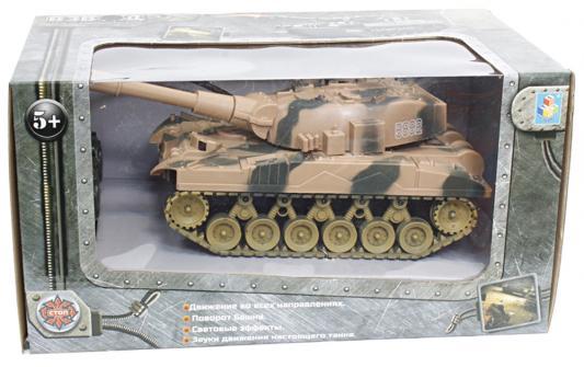 Танковый бой на радиоуправлении 1toy Взвод пластик от 5 лет камуфляж Т59145