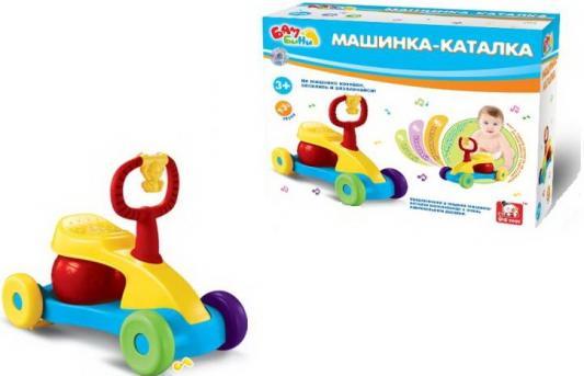 Каталка-мотоцикл S+S Toys BAMBINI со звуком разноцветный от 3 лет пластик игрушка s s toys bambini музыкальное пианино котик сс76753