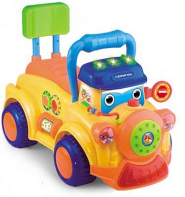 Каталка-машинка S+S Toys Bambini разноцветный от 6 месяцев пластик автотрек s s toys bambini мой первый автопаркинг сс76745