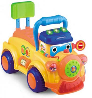 Каталка-машинка S+S Toys Bambini разноцветный от 6 месяцев пластик