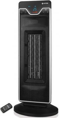 Тепловентилятор Vitek VT-1752 BK 2200 Вт пульт ДУ таймер дисплей термостат чёрный