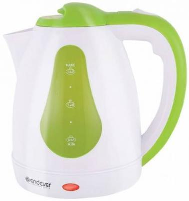 Чайник ENDEVER Skyline 350-KR 2100 Вт белый зелёный 1.8 л пластик