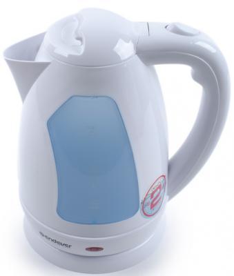 Чайник ENDEVER Skyline 353-KR 2200 Вт белый голубой 2 л пластик