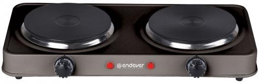 Электроплитка ENDEVER Skyline EP-20 B серый чёрный электроплитка endever skyline ep 24w белый