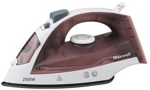 Утюг Maxwell 3049-MW 2000Вт коричневый