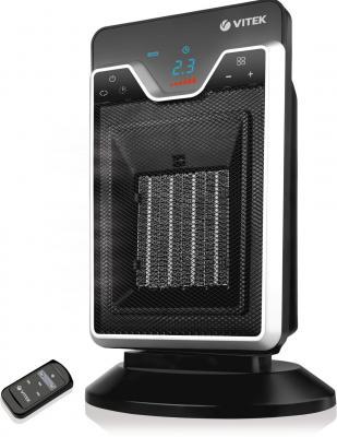 Тепловентилятор Vitek VT-1751BK 2000 Вт пульт ДУ таймер дисплей термостат чёрный