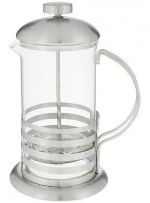 Френч-пресс Teco TС-F2060 прозрачный 0.6 л металл/стекло