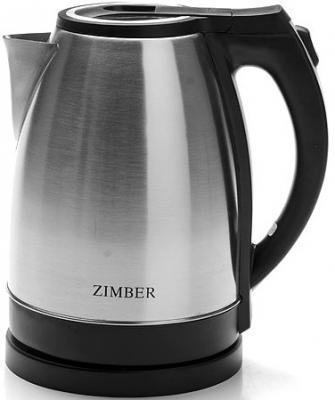 Чайник Zimber 11066-ZM 1500 Вт серебристый чёрный 1.8 л нержавеющая сталь